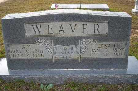 WEAVER, EDNA E - Ouachita County, Arkansas | EDNA E WEAVER - Arkansas Gravestone Photos