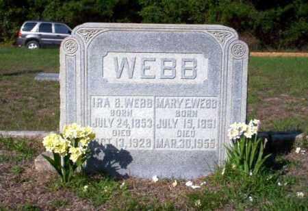 WEBB, MARY E - Ouachita County, Arkansas | MARY E WEBB - Arkansas Gravestone Photos