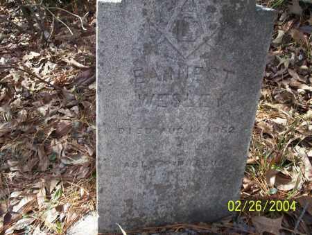 WESLEY, EARNEST - Ouachita County, Arkansas   EARNEST WESLEY - Arkansas Gravestone Photos