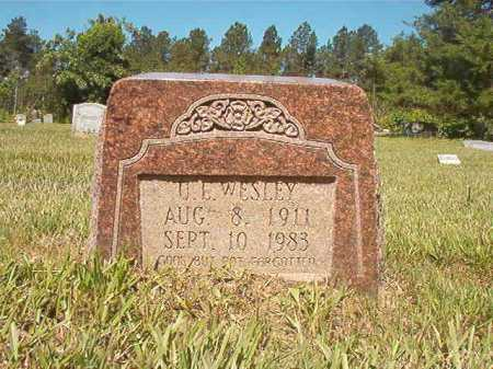WESLEY, U E - Ouachita County, Arkansas | U E WESLEY - Arkansas Gravestone Photos