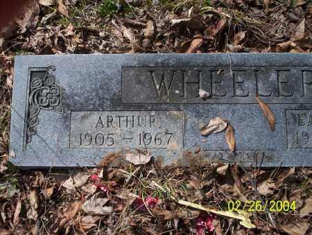 WHEELER, ARTHUR - Ouachita County, Arkansas | ARTHUR WHEELER - Arkansas Gravestone Photos
