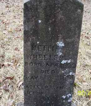 WHEELER, NETTIE - Ouachita County, Arkansas | NETTIE WHEELER - Arkansas Gravestone Photos
