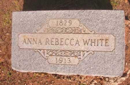 WHITE, ANNA REBECCA - Ouachita County, Arkansas   ANNA REBECCA WHITE - Arkansas Gravestone Photos