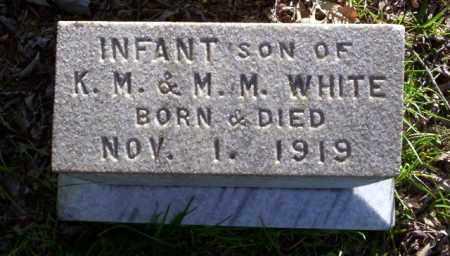 WHITE, INFANT SON - Ouachita County, Arkansas   INFANT SON WHITE - Arkansas Gravestone Photos
