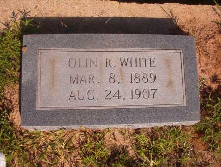 WHITE, OLIN R - Ouachita County, Arkansas   OLIN R WHITE - Arkansas Gravestone Photos