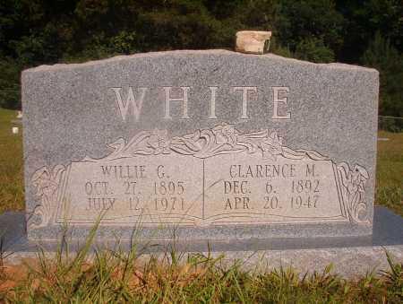 WHITE, CLARENCE M - Ouachita County, Arkansas | CLARENCE M WHITE - Arkansas Gravestone Photos