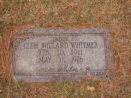 WHITMER, CLEM MILLARD - Ouachita County, Arkansas | CLEM MILLARD WHITMER - Arkansas Gravestone Photos
