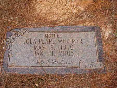 WHITMER, IOLA PEARL - Ouachita County, Arkansas   IOLA PEARL WHITMER - Arkansas Gravestone Photos