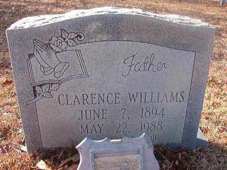 WILLIAMS, CLARENCE - Ouachita County, Arkansas | CLARENCE WILLIAMS - Arkansas Gravestone Photos