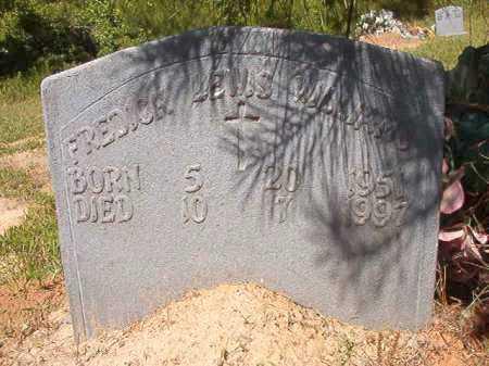 WILLIAMS, FREDICK LEWIS - Ouachita County, Arkansas | FREDICK LEWIS WILLIAMS - Arkansas Gravestone Photos