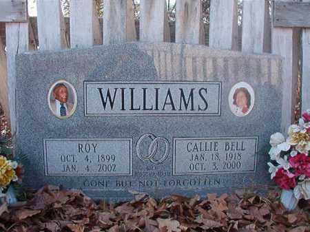 WILLIAMS, CALLIE BELL - Ouachita County, Arkansas | CALLIE BELL WILLIAMS - Arkansas Gravestone Photos