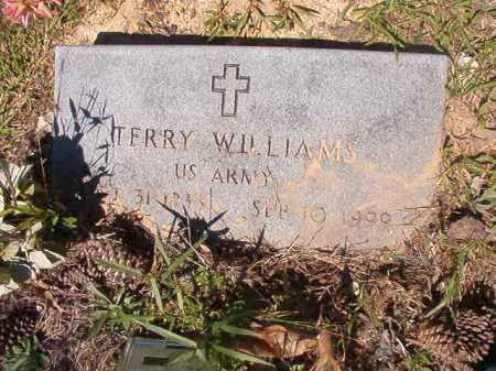 WILLIAMS (VETERAN), TERRY - Ouachita County, Arkansas | TERRY WILLIAMS (VETERAN) - Arkansas Gravestone Photos