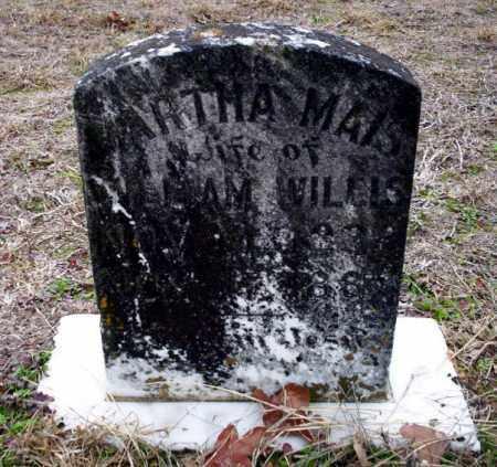 WILLIS, ARTHA MAIS - Ouachita County, Arkansas | ARTHA MAIS WILLIS - Arkansas Gravestone Photos