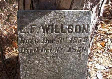 WILSON, E.L. - Ouachita County, Arkansas | E.L. WILSON - Arkansas Gravestone Photos