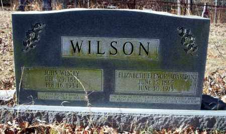 ADAMSON WILSON, ELIZABETH ELENOR - Ouachita County, Arkansas | ELIZABETH ELENOR ADAMSON WILSON - Arkansas Gravestone Photos