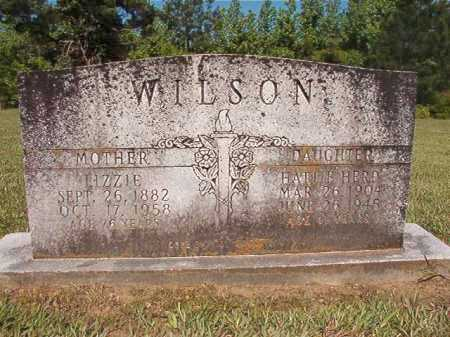 WILSON, LIZZIE - Ouachita County, Arkansas | LIZZIE WILSON - Arkansas Gravestone Photos