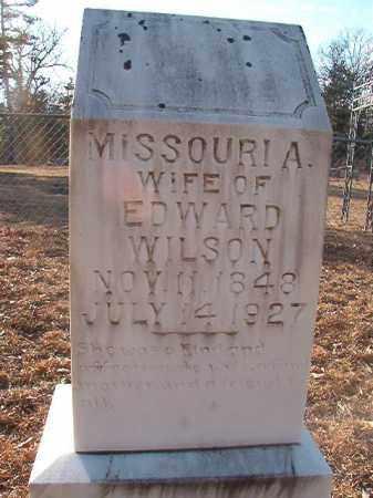 WILSON, MISSOURI A - Ouachita County, Arkansas | MISSOURI A WILSON - Arkansas Gravestone Photos