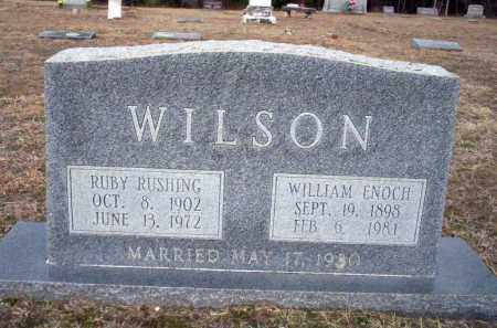 WILSON, WILLIAM ENOCH - Ouachita County, Arkansas | WILLIAM ENOCH WILSON - Arkansas Gravestone Photos