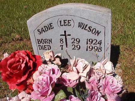 WILSON, SADIE LEE - Ouachita County, Arkansas | SADIE LEE WILSON - Arkansas Gravestone Photos