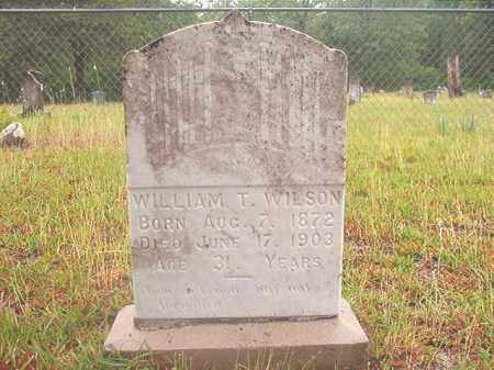 WILSON, WILLIAM T - Ouachita County, Arkansas | WILLIAM T WILSON - Arkansas Gravestone Photos