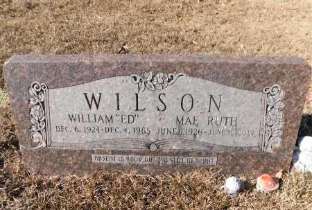 "WILSON, WILLIAM ""ED"" - Ouachita County, Arkansas   WILLIAM ""ED"" WILSON - Arkansas Gravestone Photos"