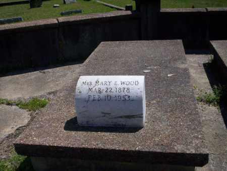 WOOD, MARY E - Ouachita County, Arkansas   MARY E WOOD - Arkansas Gravestone Photos