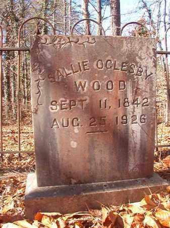WOOD, SALLIE - Ouachita County, Arkansas | SALLIE WOOD - Arkansas Gravestone Photos