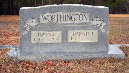 WORTHINGTON, JAMES G - Ouachita County, Arkansas | JAMES G WORTHINGTON - Arkansas Gravestone Photos