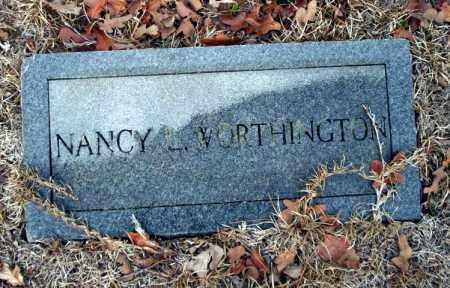 WORTHINGTON, NANCY - Ouachita County, Arkansas | NANCY WORTHINGTON - Arkansas Gravestone Photos