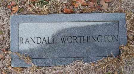 WORTHINGTON, RANDALL - Ouachita County, Arkansas | RANDALL WORTHINGTON - Arkansas Gravestone Photos