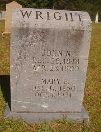 WRIGHT, JOHN N - Ouachita County, Arkansas | JOHN N WRIGHT - Arkansas Gravestone Photos