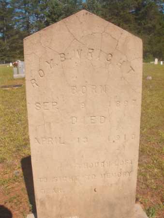 WRIGHT, ROY B - Ouachita County, Arkansas   ROY B WRIGHT - Arkansas Gravestone Photos
