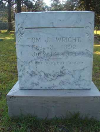 WRIGHT, TOM J - Ouachita County, Arkansas | TOM J WRIGHT - Arkansas Gravestone Photos