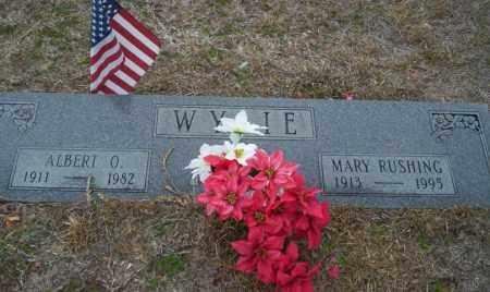 WYLIE, ALBERT O - Ouachita County, Arkansas | ALBERT O WYLIE - Arkansas Gravestone Photos