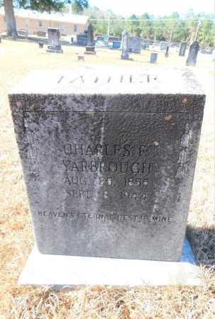 YARBROUGH, CHARLES F - Ouachita County, Arkansas   CHARLES F YARBROUGH - Arkansas Gravestone Photos