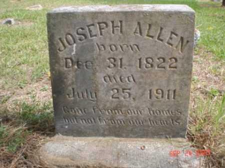 ALLEN, JOSEPH - Perry County, Arkansas | JOSEPH ALLEN - Arkansas Gravestone Photos