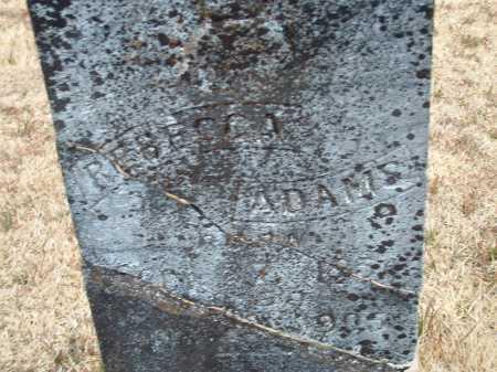 COOPER ADAMS, REBECCA - Perry County, Arkansas | REBECCA COOPER ADAMS - Arkansas Gravestone Photos
