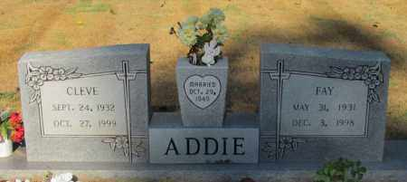 ADDIE, FAY H - Perry County, Arkansas | FAY H ADDIE - Arkansas Gravestone Photos