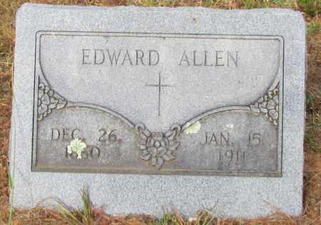 ALLEN, EDWARD - Perry County, Arkansas | EDWARD ALLEN - Arkansas Gravestone Photos