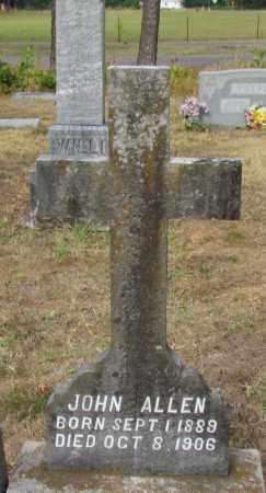 ALLEN, JOHN - Perry County, Arkansas | JOHN ALLEN - Arkansas Gravestone Photos