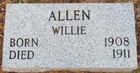ALLEN, WILLIE - Perry County, Arkansas   WILLIE ALLEN - Arkansas Gravestone Photos