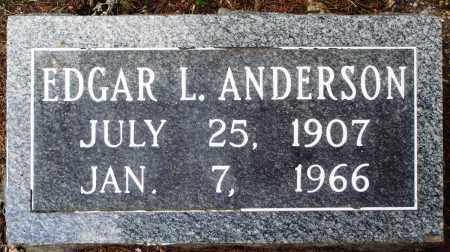 ANDERSON, EDGAR L - Perry County, Arkansas | EDGAR L ANDERSON - Arkansas Gravestone Photos