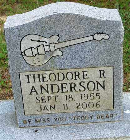 ANDERSON, THEODORE R - Perry County, Arkansas | THEODORE R ANDERSON - Arkansas Gravestone Photos