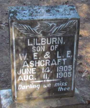 ASHCRAFT, LILBURN - Perry County, Arkansas | LILBURN ASHCRAFT - Arkansas Gravestone Photos
