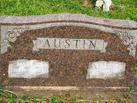 AUSTIN, WILLIS F - Perry County, Arkansas | WILLIS F AUSTIN - Arkansas Gravestone Photos
