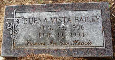 BAILEY, BUENA VISTA - Perry County, Arkansas   BUENA VISTA BAILEY - Arkansas Gravestone Photos