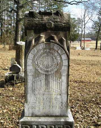 BARBER, J. M. - Perry County, Arkansas | J. M. BARBER - Arkansas Gravestone Photos