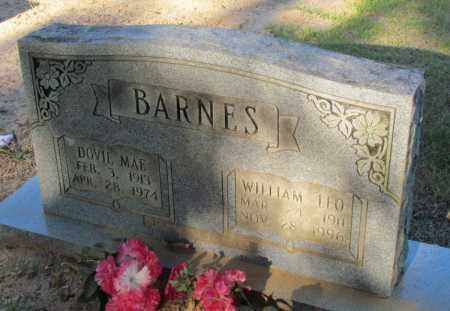 BARNES, WILLIAM LEO - Perry County, Arkansas | WILLIAM LEO BARNES - Arkansas Gravestone Photos