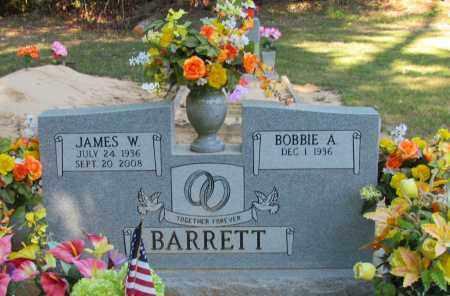 BARRETT, JAMES W - Perry County, Arkansas | JAMES W BARRETT - Arkansas Gravestone Photos