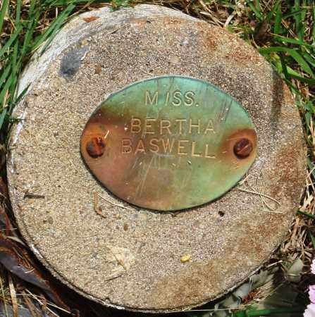 BASWELL, BERTHA - Perry County, Arkansas | BERTHA BASWELL - Arkansas Gravestone Photos